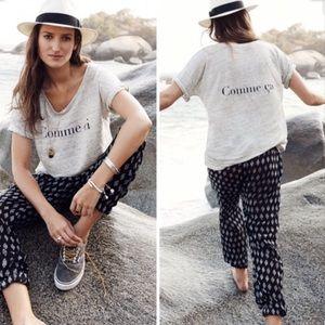 MADEWELL | Comme Ci Grey Tee Shirt